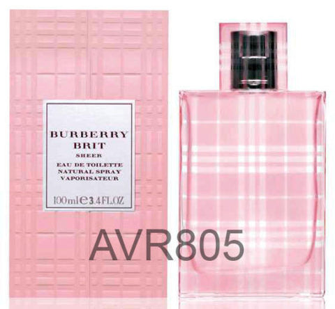 Burberry Brit Sheer EDT Spray Women 100ml