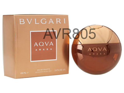 Bvlgari Bulgari Aqva Amara Aqua 100ml EDT Spray Men Tester