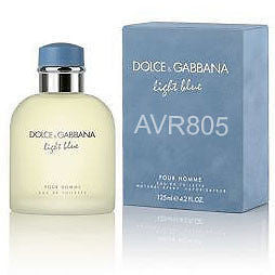Dolce & Gabbana D&G Light Blue Cologne 125ml EDT for Men Tester