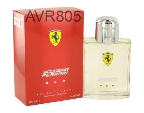 Ferrari Scuderia Red 125ml EDT Spray for Men