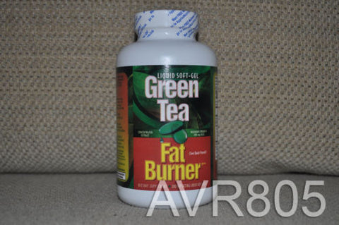 Green Tea Fat Burner with EGCG 200 Liquid Soft-Gels