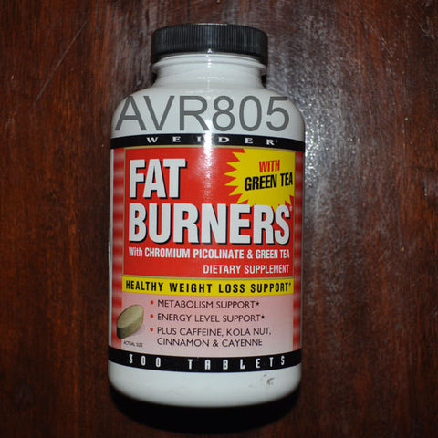 Joe Weider Fat Burners with Green Tea 300 Tablets