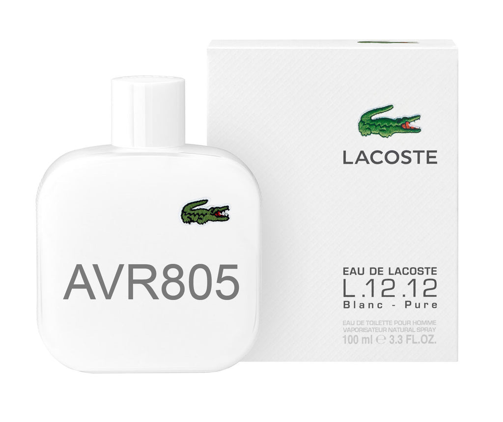 Lacoste L.12.12 Blanc - Pure White 100ml EDT Spray for Men