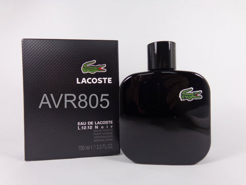Lacoste L.12.12 Noir - Intense Black 100ml EDT Spray for Men