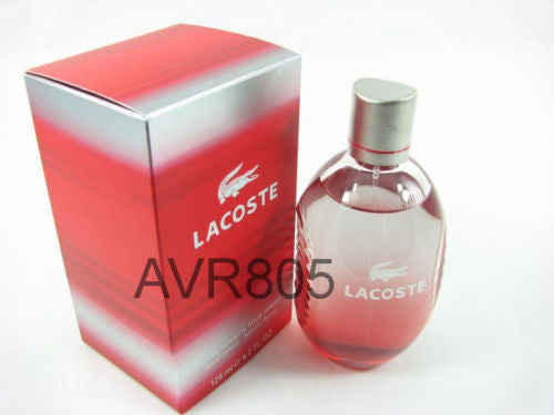 Lacoste Red Style In Play 125ml EDT Spray Men Tester