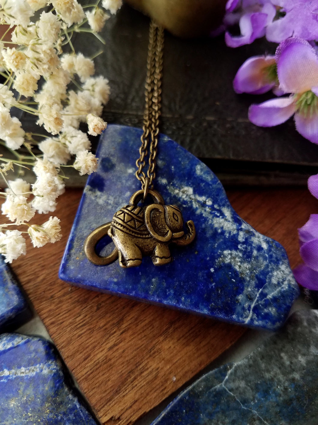 Elephant Charm Necklace - SacredDivination