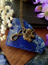 Load image into Gallery viewer, Elephant Charm Necklace - SacredDivination