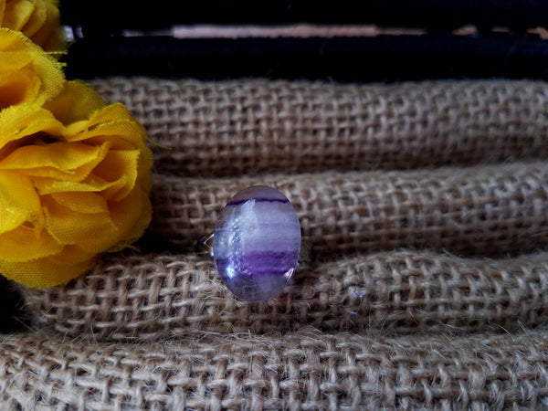 Adjustable Fluorite Ring - SacredDivination