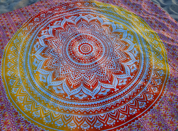 Bohemian Tapestry, Beach, Yoga, Bed spread and Home Decor - SacredDivination