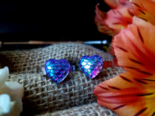 Load image into Gallery viewer, Rainbow Mermaid Heart Rings - SacredDivination