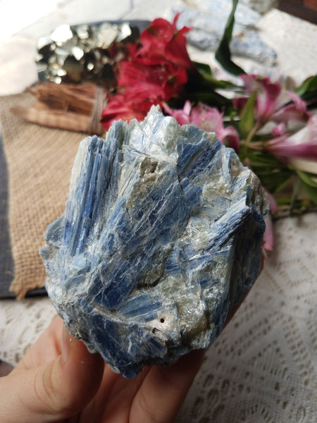 *Flash Sale* Large Blue Kyanite Cluster