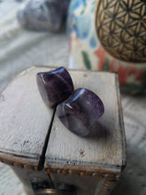 Load image into Gallery viewer, Fluorite Plugs - 5/8 - 16mm