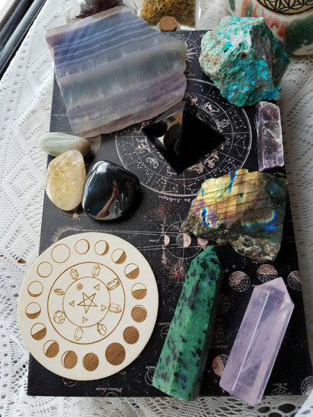 Zodiac Crystal Healing Kit