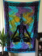 Load image into Gallery viewer, Tie Dye Chakra Tapestry