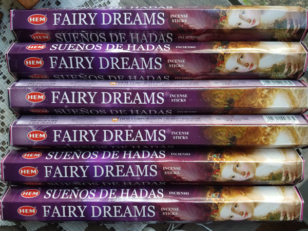 """Fairy Dreams"" Incense Sticks"