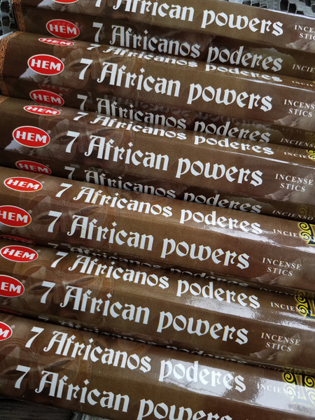 """Seven African Powers"" Incense Sticks"