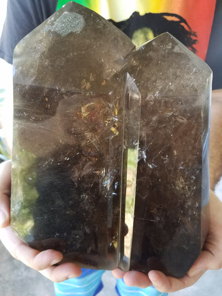 XXL Rutilated Smoky Quartz *FREE U.S. DOMESTIC SHIPPING*