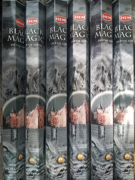"""Black Magic"" Incense Sticks"