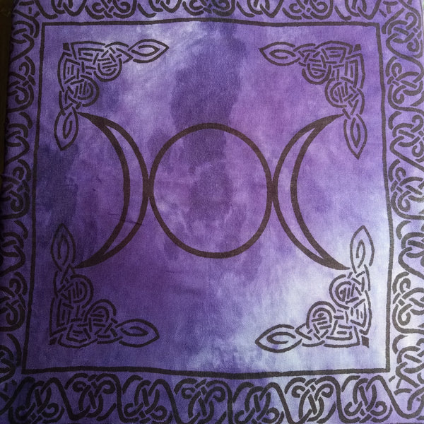 Triple Moon Tapestry/Altar Clothv