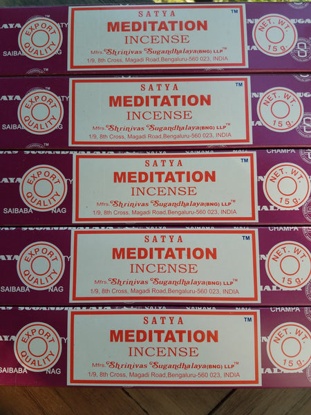 """Meditation"" Incense Sticks"