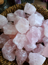 Load image into Gallery viewer, Rough Small Rose Quartz Chunk