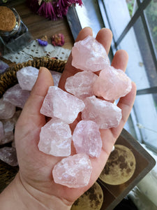 Rough Small Rose Quartz Chunk