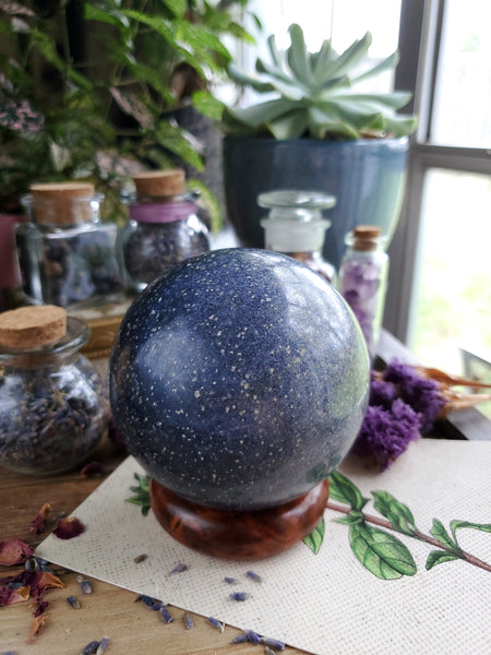 Lazulite Sphere - 74mm