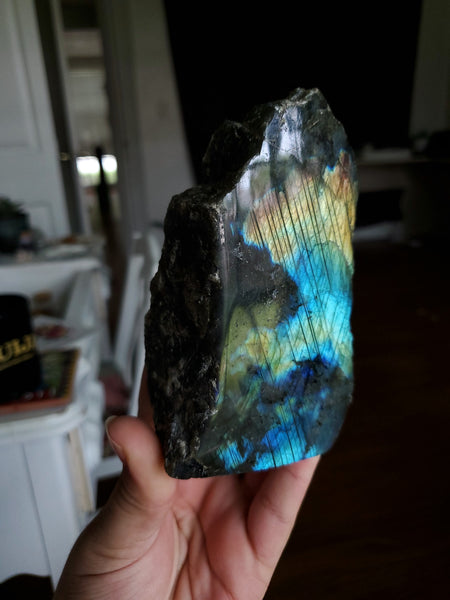 Semi Polished Labradorite