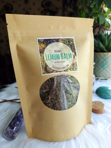 Organic Lemon Balm ~ 1oz