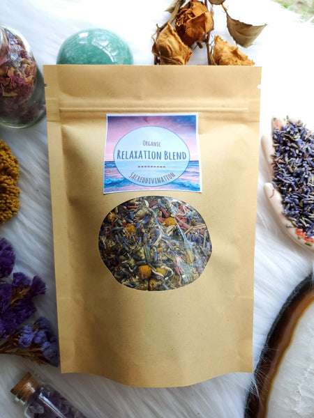 Organic Relaxation Blend ~ 1oz