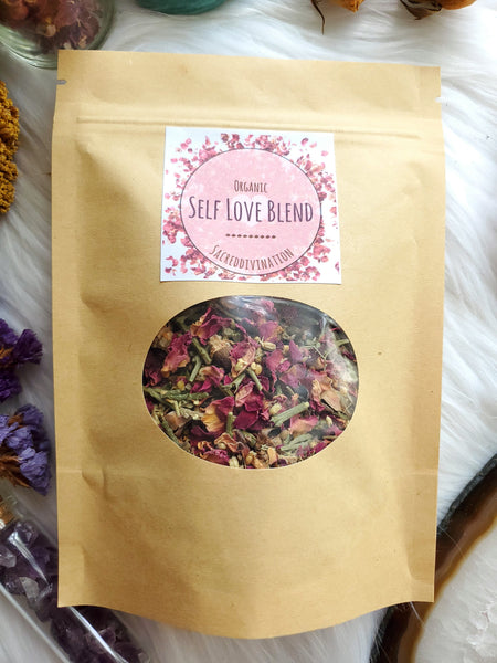 Organic Self Love Blend ~ 1oz