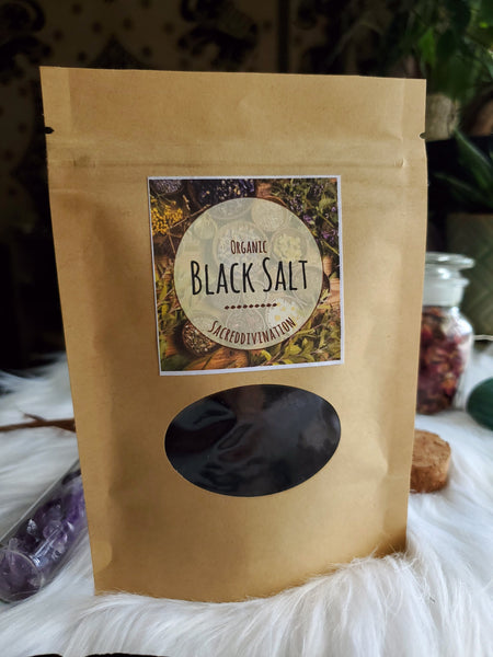 Organic Black Salt ~ 2oz