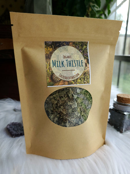 Organic Milk Thistle ~ 1oz