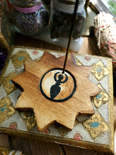 Load image into Gallery viewer, Wooden Goddess Incense Holder