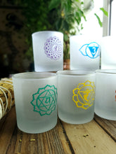 Load image into Gallery viewer, Seven Chakra Candle Holder Set