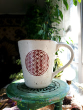 Load image into Gallery viewer, Flower Of Life Ceramic Mug
