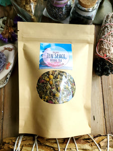 Organic Zen Space Tea Blend ~ 1.5oz