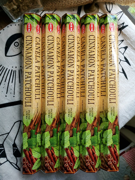 """Cinnamon Patchouli"" Incense Sticks"