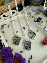 Load image into Gallery viewer, Full Moon Tarot Necklace