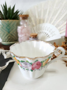 Dainty Gladstone Floral Tea Cup