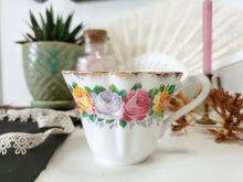 Load image into Gallery viewer, Dainty Gladstone Floral Tea Cup