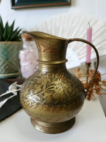 Vintage upcycled Brass Vase