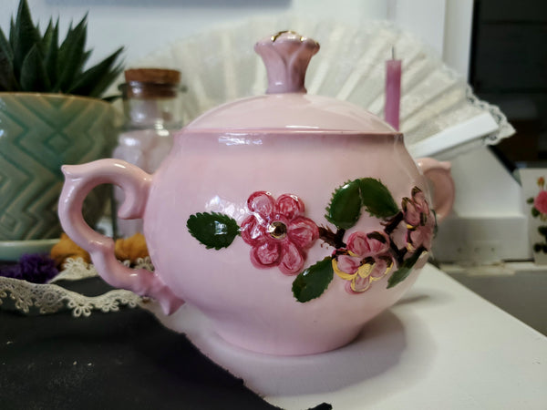 Pretty in Pink Herb Keeper
