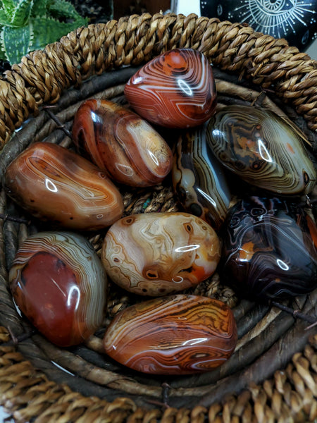 Large Sardonyx Agate Pocket Stone