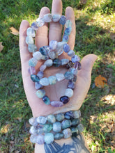 Load image into Gallery viewer, Chunky Fluorite Bracelet