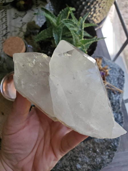Arkansas Clear Quartz Cluster