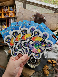 Celestial Turtle Stickers