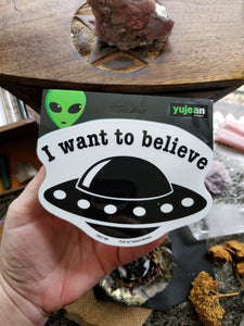 I Want to Believe Stickers