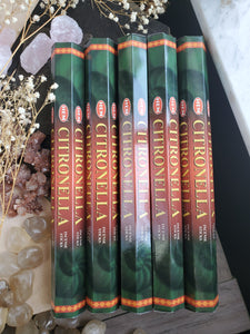 """Citronella"" Incense Sticks"