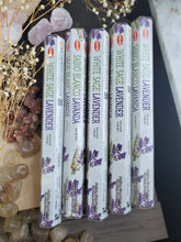 "Load image into Gallery viewer, ""White Sage & Lavender"" Incense Sticks"